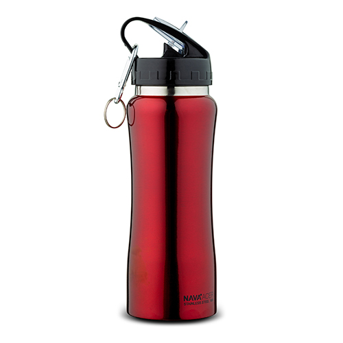 stainless-steel-vacuum-travel-bottle-red-with-keychain-acer-350ml