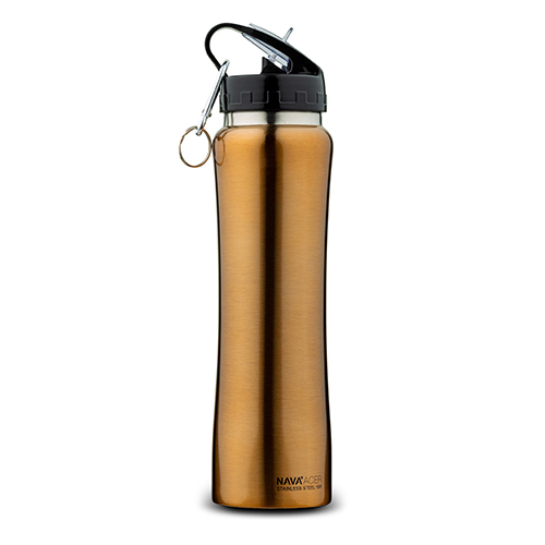 stainless-steel-vacuum-travel-bottle-copper-with-keychain-acer-500ml